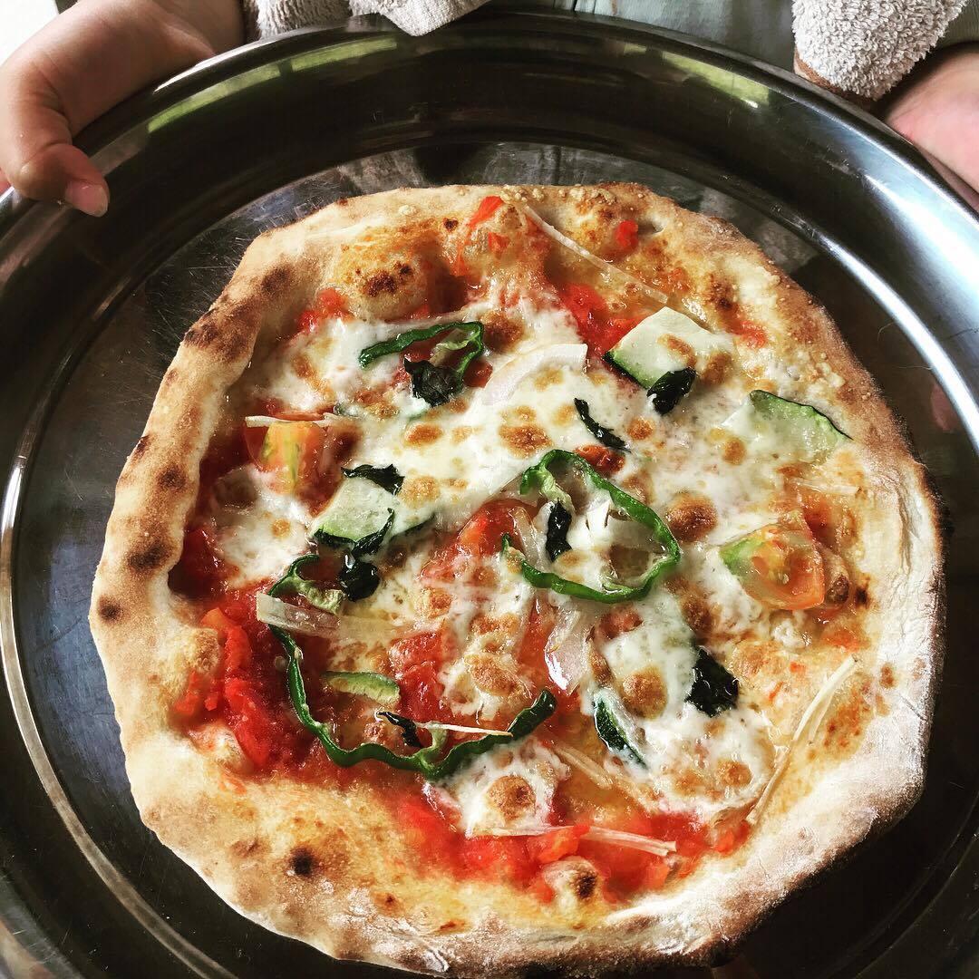 おいしいピザ作り体験